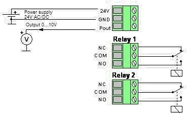 Pressostato-Trasduttore DPI - Diagramma