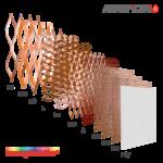Strati del Filtro multistrato raccoglivernice© HC_2M200 - filtri columbus
