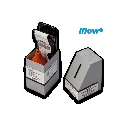 Fialette fumogene in kit completo di pompa e scatola - Indicatore di portata ...