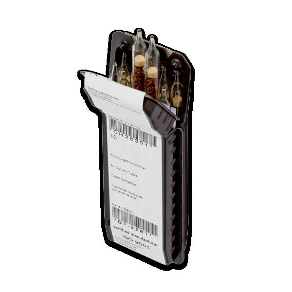 Confezione di 10 fiale di fumogeno (oleum) per Indicatore di correnti d'aria ICA 001