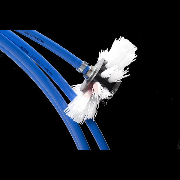 Albero Flessibile pulizia canali aria con attacco a mandrino per pulizia canali aria con spazzole rotanti Standard Flex