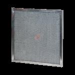 filtri metallici piani