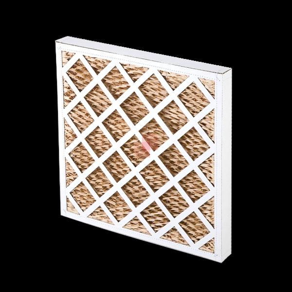 Celle filtranti con telaio in cartone e filtro Columbus HC