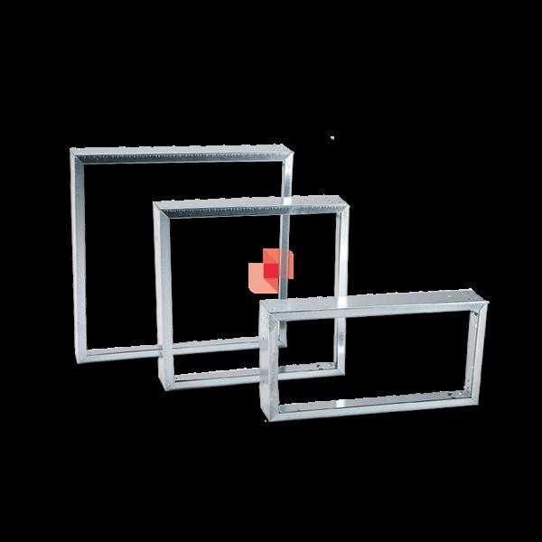 Controtelaio per filtri a tasche e celle