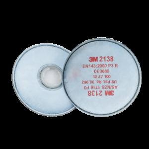 3m 2138 filtri p3 con carbone attivo