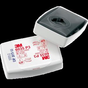 filtro 3m p3 6035 con involucro rigido