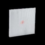 Filtri aria alta temperatura in fibra di vetro e alluminio per forni essicazione
