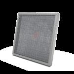 Filtri metallici piani in calza di alluminio