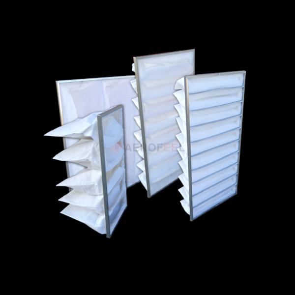filtri a tasche per cabine forno carrozzeria