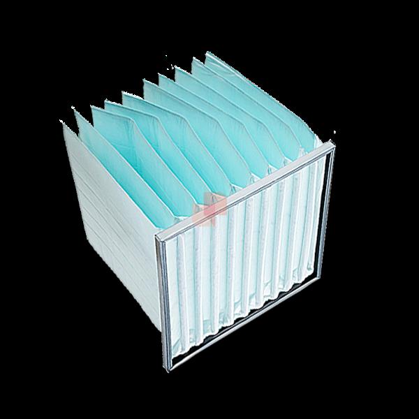 filtri a tasche flosce morbide per depurazione aria