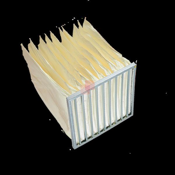 filtri a tasche flosce per depurazione aria