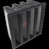 filtri carbone attivo tasche rigide