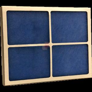 cella filtrante g4 telaio in cartone