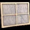 retro cella telaio in cartone