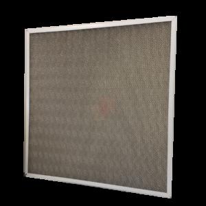 filtro acciaio inox in rete stirata