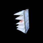 filtro a tasche per aspirazione cabine forno carrozzeria CMC 5 settori