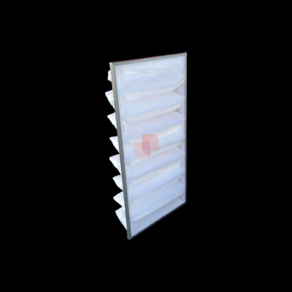 filtro a tasche per cabine forno carrozzeria USI Italia 8 settori