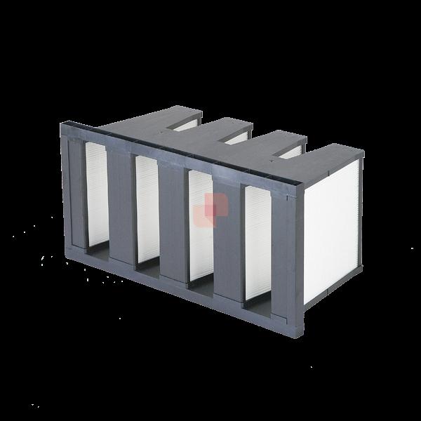 Filtri a Tasche Rigide per filtrazione polveri unità trattamento aria, impianti ventilazione, condizionamento