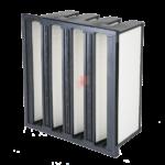 Filtro a Tasche Rigide per filtrazione polveri unità trattamento aria, impianti ventilazione, condizionamento