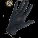 guanti in nitrile neri senza polvere