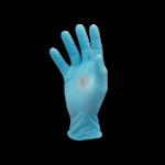 Guanti in nitrile blu monouso antipolvere