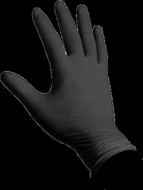 guanti in nitrile neri alto spessore