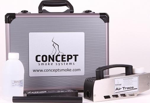 Kit Generatore di Fumo portatile Concept Air Trace