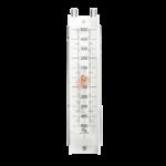 Manometro Verticale a U a colonna di liquido per basse pressioni manometro differenziale