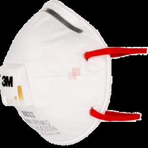 maschera 3m ffp3 con valvola a coppa