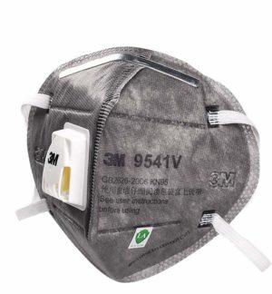 maschera 3m KN 95 con carboni attivi e valvola