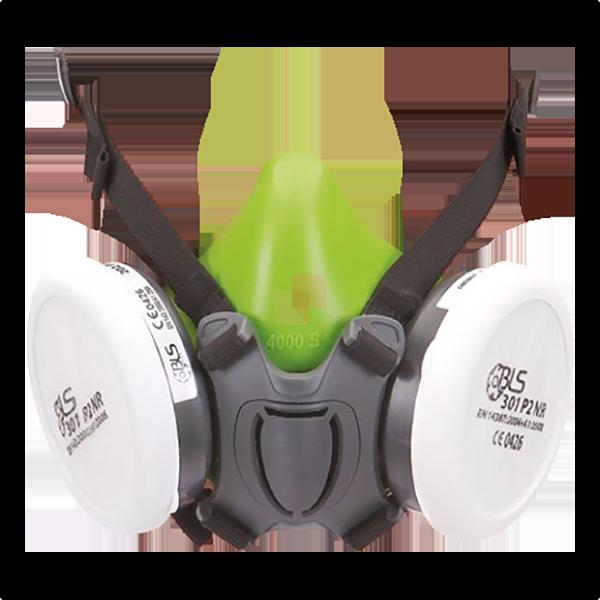 maschera respiratoria bls filtri intervambiabili