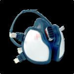 Maschera Protettiva respiratore 3M 4255 a carboni attivi