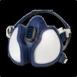 Maschera Protettiva respiratore vapori organici, gas, polveri 3M 4279 a carboni attivi