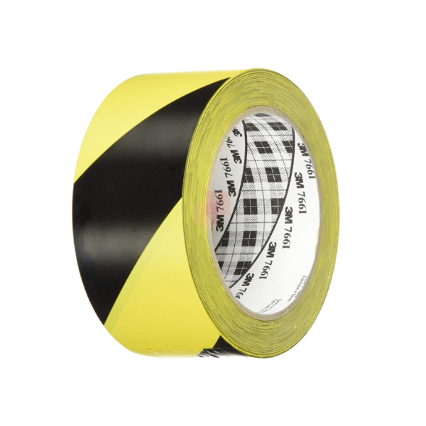 nastro adesivo segnaletico giallo e nero 3m 766i