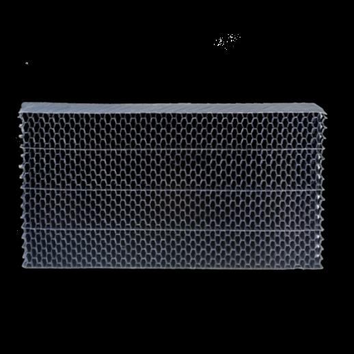 Separatori gocce in pannelli PVC per flussi aria verticale