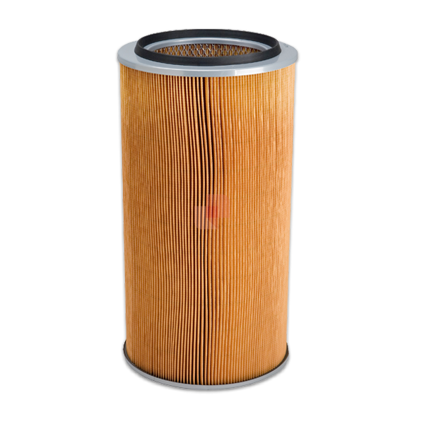 Cellulose Filter Cartridge for air filtration in dedusting, dust collectors
