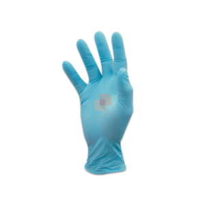 Blue Nitrile Disposable protective Gloves