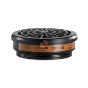 BLS 311 A2 thread-fitting filter for half-mask respirator
