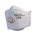 Flat Fold Protective Mask with Exhalation Valve Respirator BLS 722