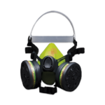 Half Mask Respirator TP2000 R in thermoplastic rubber with removable cartridges