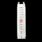 Vertical Liquid Column U-Tube Manometer Differential Pressure Gauge