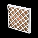 Cardboard Framed Panel Filter with Columbus HC media