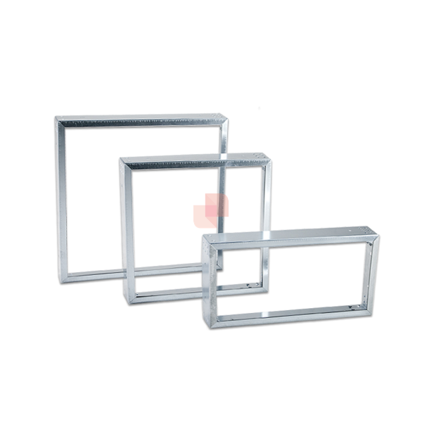 Air filters holding frame mounting frame in galvanized steel