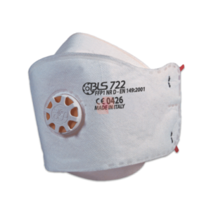 Flat Fold Mask with Activated Carbon and Exhalation Valve BLS 722 FFP2