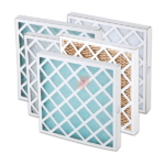 Panel Filters with Cardboard Frame