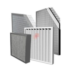 Panel Filters with Metal Frame