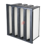 Rigid Pocket Filters for air filtration in air handling units in HVAC systems class m6 f7 f8 f9
