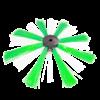 spazzola pulizia canali aria standard