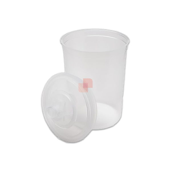 Tazze per Vernici monouso 3M PPS 16026 capacità 600 ml – filtro 125 µm – confezione da 50 pezzi